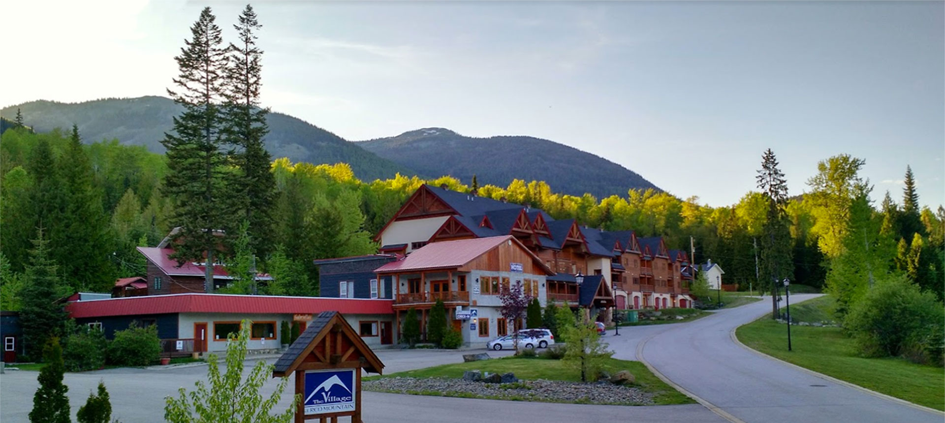 Red Mountain Village in Rossland